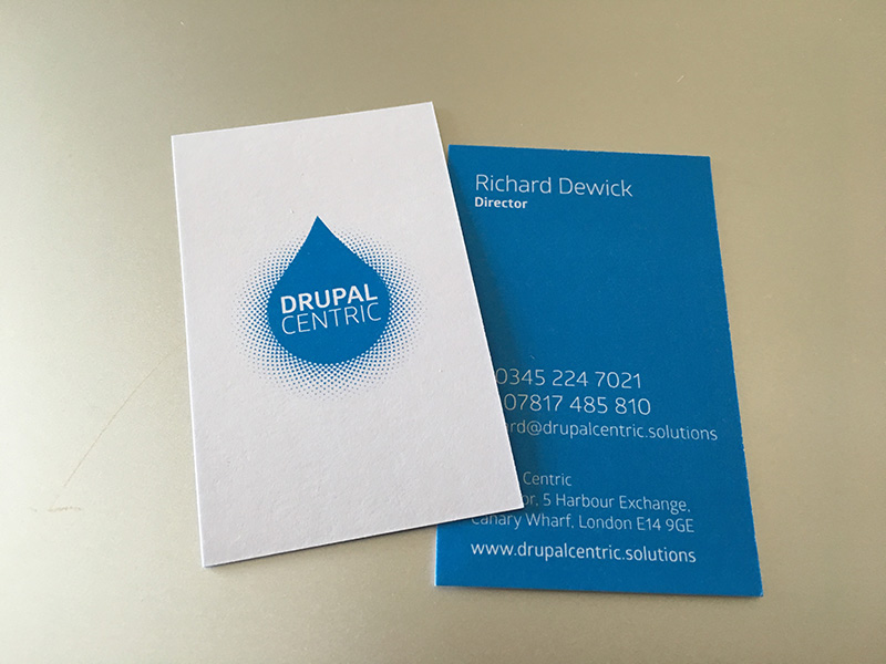 Drupal Centric cards